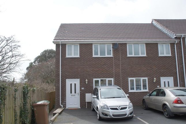Thumbnail End terrace house to rent in Fraser Road, Tamerton Foliot, Plymouth