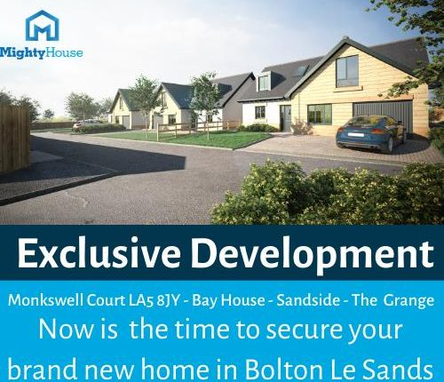 Thumbnail Detached bungalow for sale in Bay House, Monkswell Court, Bolton Le Sands, Carnforth