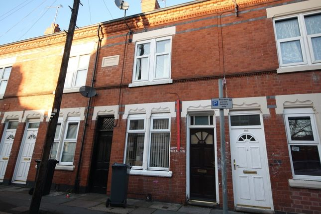 Thumbnail Terraced house for sale in Filbert Street, Leicester