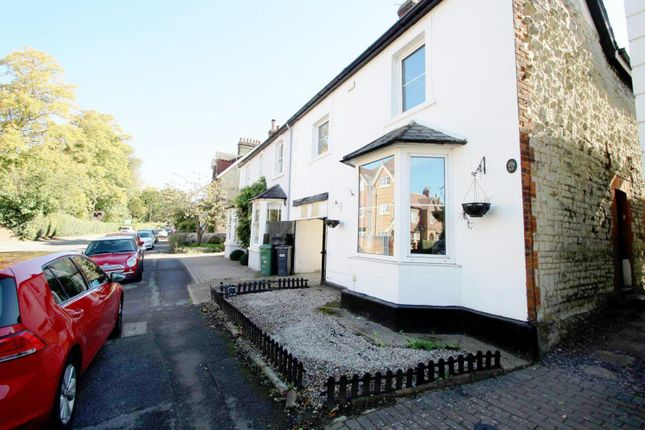 Thumbnail End terrace house to rent in Croydon Road, Reigate