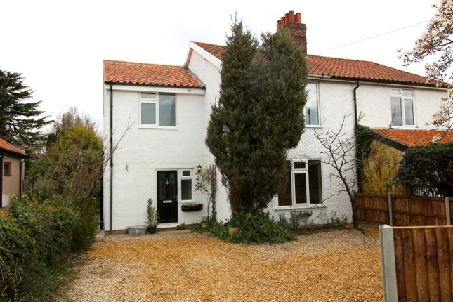 Thumbnail Semi-detached house for sale in Oakfields Road, Cringleford, Norwich