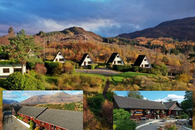 Thumbnail Leisure/hospitality for sale in Inchree Chalets, Rooms, Pub & Restaurant, Onich, Fort William