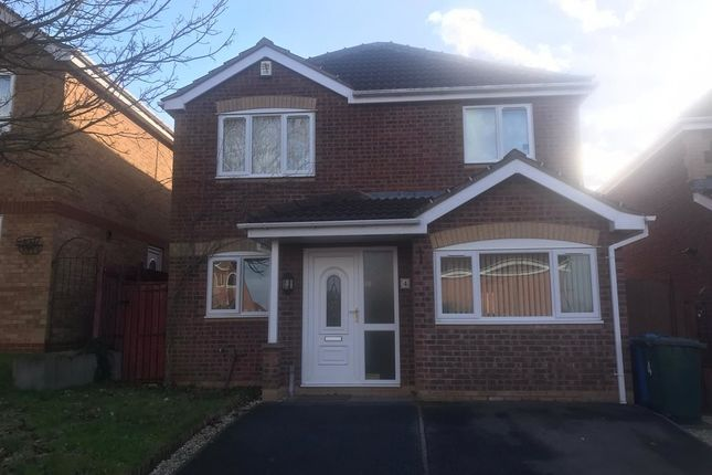 Thumbnail Detached house to rent in Blenheim Rise, Worksop
