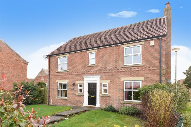 Thumbnail Detached house for sale in The Rowans, Holme-On-Spalding-Moor, York