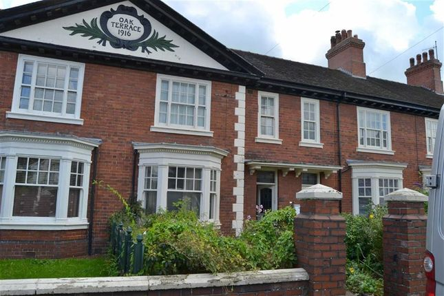 Thumbnail Town house for sale in Newcastle Road, Leek