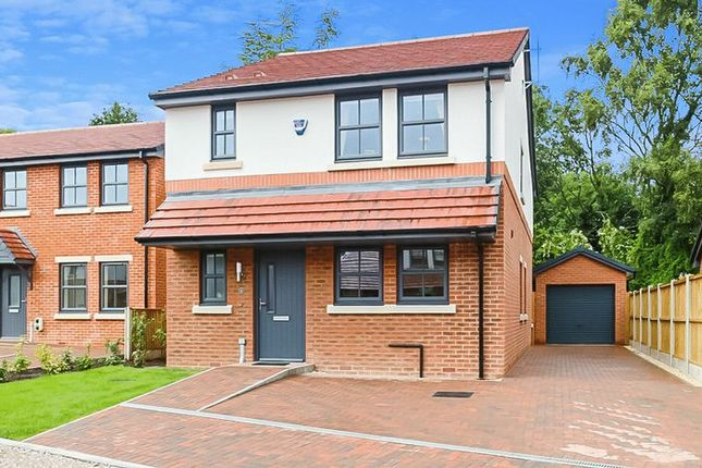Thumbnail Detached house for sale in Village View Close, Audlem, Crewe