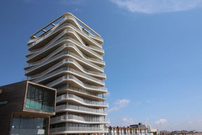 External (Main) of Bayside Apartments, Brighton Road BN11