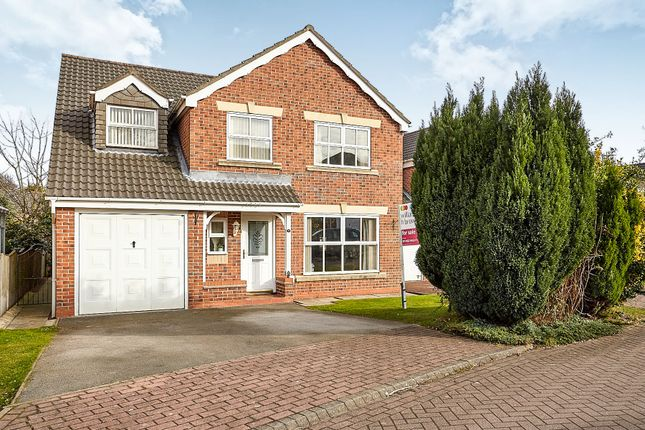 Thumbnail Detached house for sale in Tranby Park Meadows, Hessle