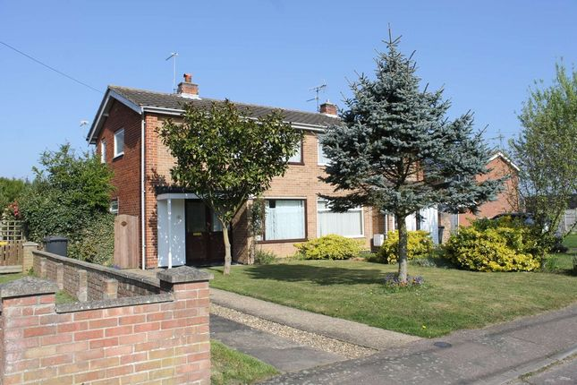 2 bed semi-detached house for sale in Bonsey Gardens, Wrentham, Beccles