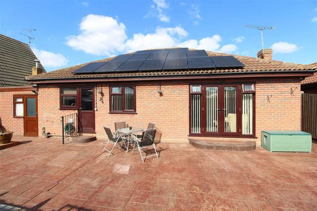 Rear Of Bungalow With Solar Panels