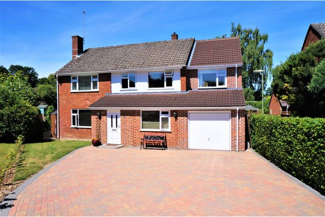 Thumbnail Detached house for sale in Poynings Crescent, Basingstoke