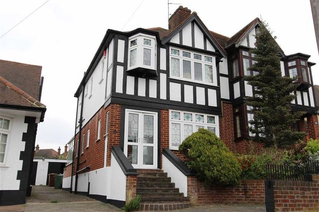 Thumbnail Semi-detached house for sale in Sunset Avenue, North Chingford, London