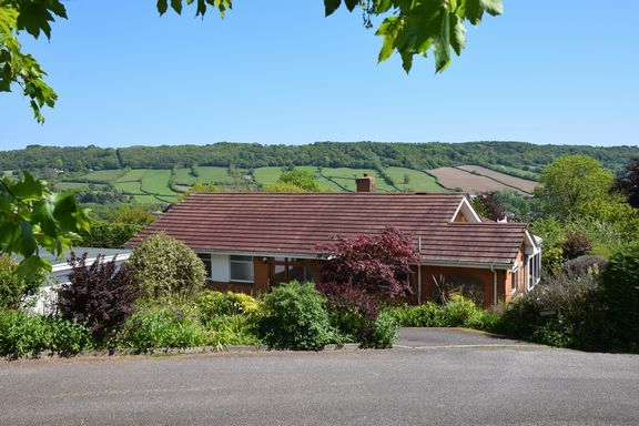 Thumbnail Detached bungalow for sale in Coreway Close, Sidford, Sidmouth