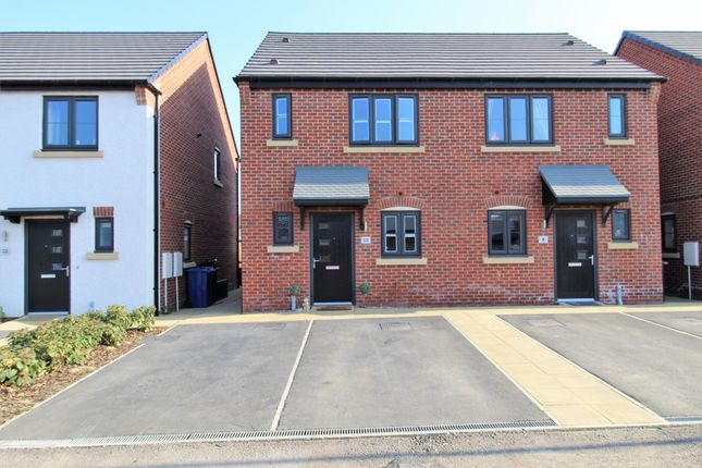 2 bed semi-detached house for sale in Brackenbury Road, Saxilby, Lincoln LN1
