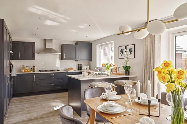 """Thumbnail Detached house for sale in """"The Juniper"""" at Maddoxford Lane, Botley, Southampton"""