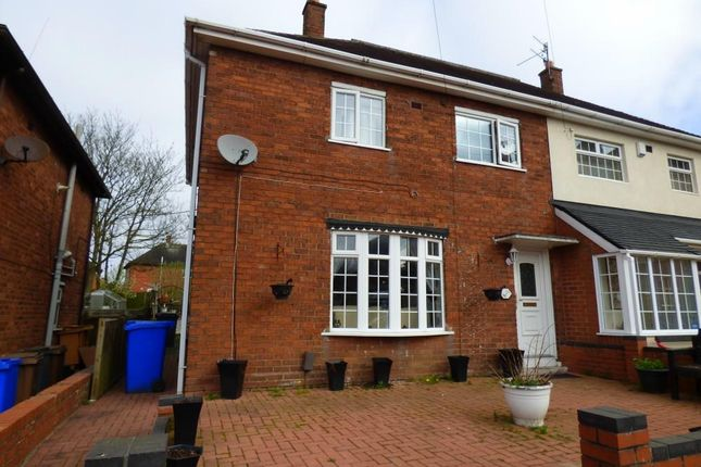 Thumbnail Semi-detached house for sale in Tyson Green, Bentilee, Stoke-On-Trent