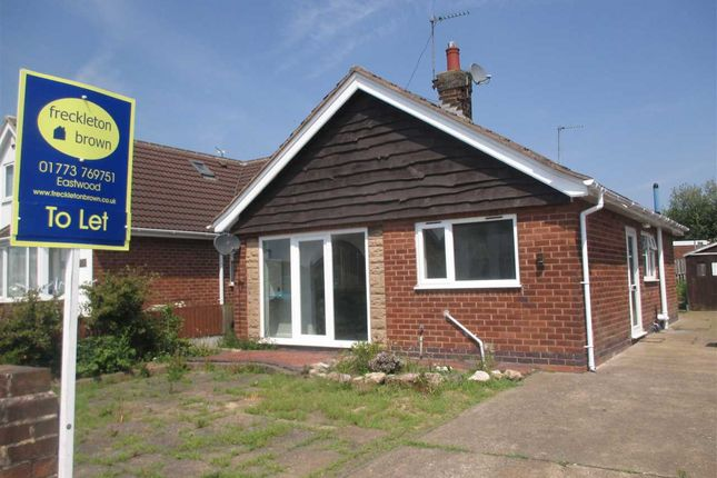 Thumbnail Detached bungalow to rent in Cherry Tree Close, Brinsley, Nottingham
