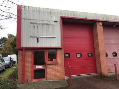 Thumbnail Light industrial to let in Unit 1 Swan Units, Heron Road, Exeter