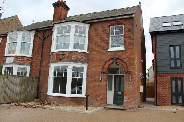 Thumbnail Maisonette to rent in Fornham Road, Bury St. Edmunds
