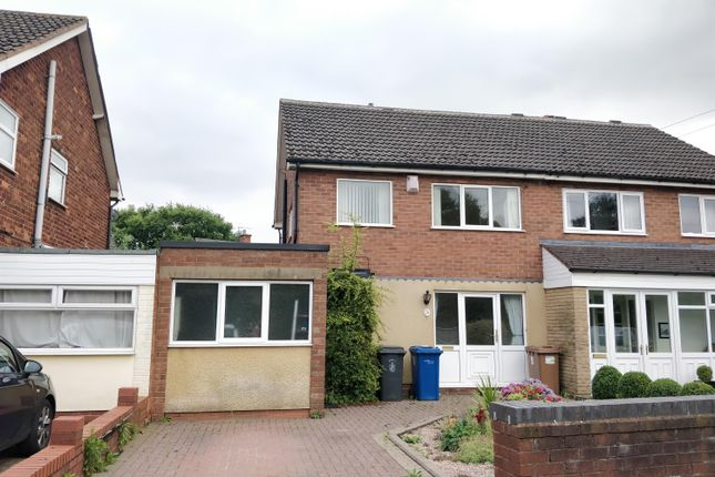 Thumbnail Semi-detached house to rent in Dyott Close, Lichfield