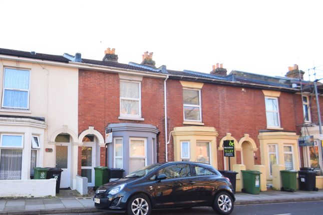 Thumbnail Terraced house to rent in Playfair Road, Southsea