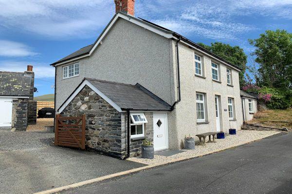 Thumbnail Detached house for sale in Bryncrug, Tywyn