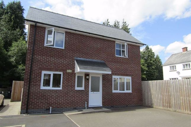 Thumbnail Detached house to rent in 1, Fairfield Court, Rhayader, Powys