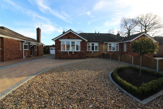 Thumbnail Semi-detached bungalow for sale in The Spinney, Cottingham