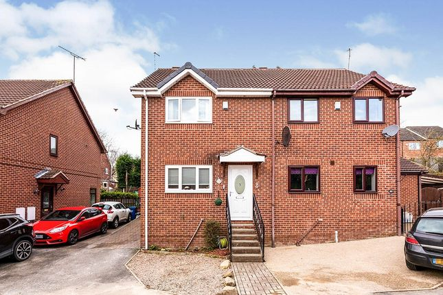 Thumbnail Semi-detached house for sale in Belle Green Close, Cudworth, Barnsley