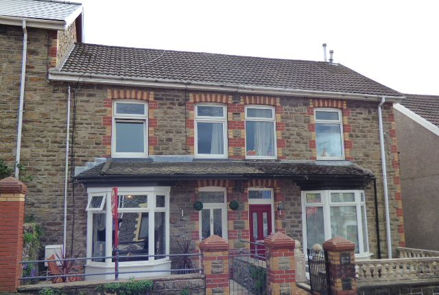 Thumbnail Terraced house for sale in Alexandra Road, Pontycymmer, Bridgend