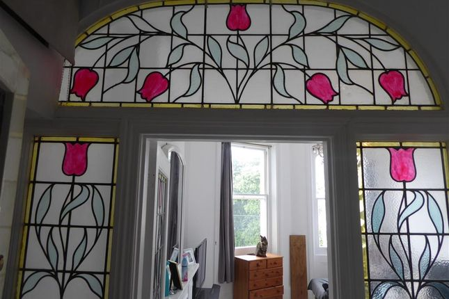Stained Glass of Denmark Terrace, Brighton, East Sussex BN1
