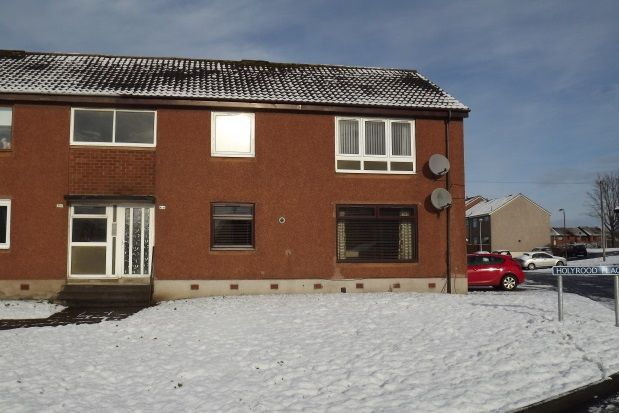 Thumbnail Flat to rent in Holyrood Place, Stenhousemuir, Larbert