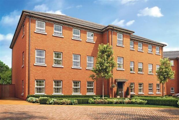 Thumbnail Flat for sale in Mallard Way, Sprowston, Norwich