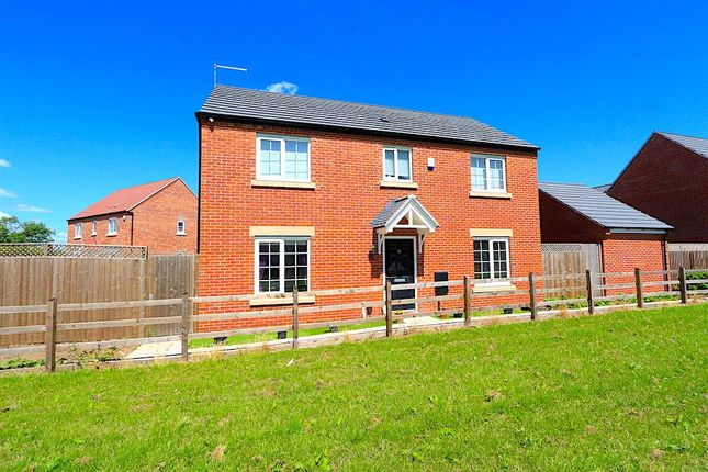 Thumbnail Detached house for sale in Kirkwood Close, Leicester Forest East, Leicester