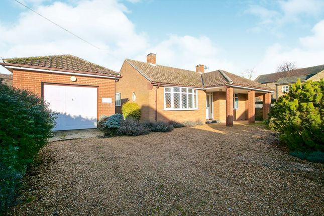 Thumbnail Detached bungalow for sale in Station Road, Soham, Ely