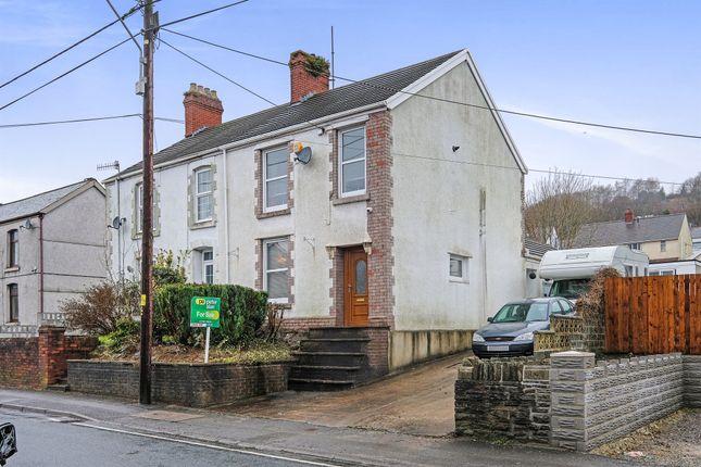 Thumbnail Semi-detached house for sale in Swansea Road, Trebanos, Swansea