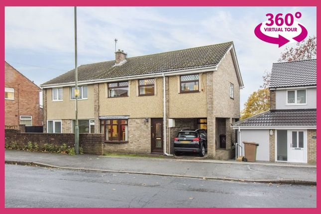 Thumbnail Semi-detached house for sale in Forest Hill, The Bryn, Pontllanfraith, Blackwood