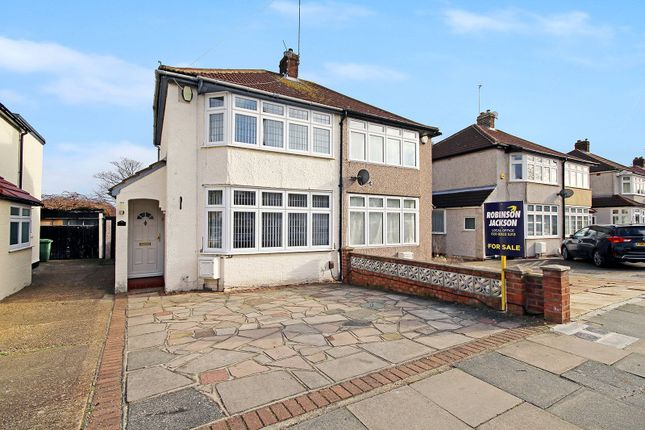Thumbnail Semi-detached house for sale in Merlin Road, South Welling, Kent