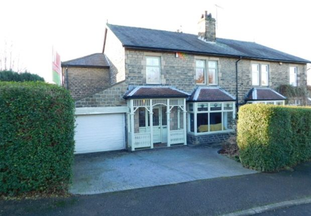 Thumbnail Semi-detached house for sale in Bankfield Drive, Nab Wood, Shipley