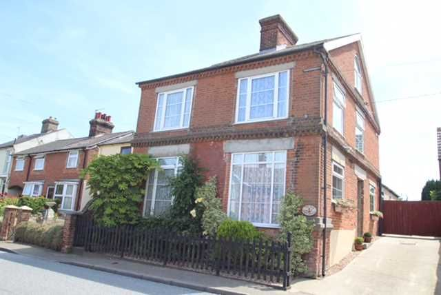 Thumbnail Detached house for sale in The Old Post Office, Main Road, Chelmondiston