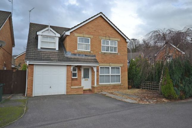 Thumbnail Detached house for sale in Spacious Family House, Cedar Wood Drive, Newport, No Chain