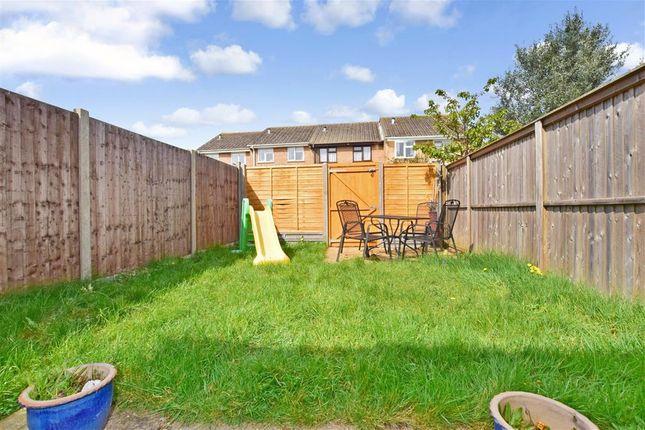 Rear Garden of Bates Close, Larkfield, Aylesford, Kent ME20
