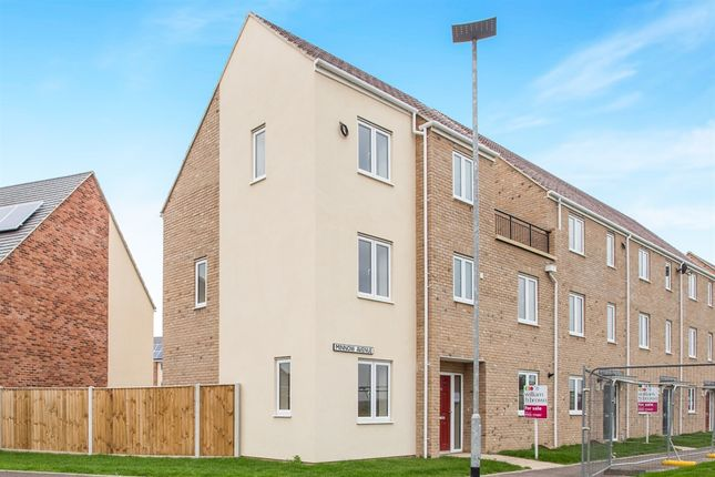 Thumbnail End terrace house for sale in Nar Valley Park, 25 Minnow Avenue, King's Lynn