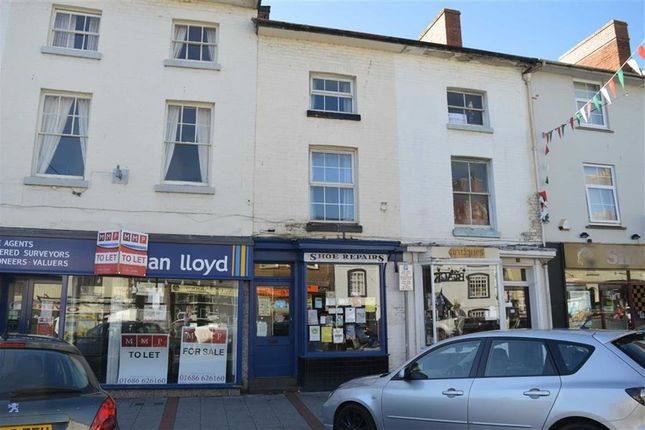 Thumbnail Flat to rent in The Flat, 17, Broad Street, Newtown, Powys