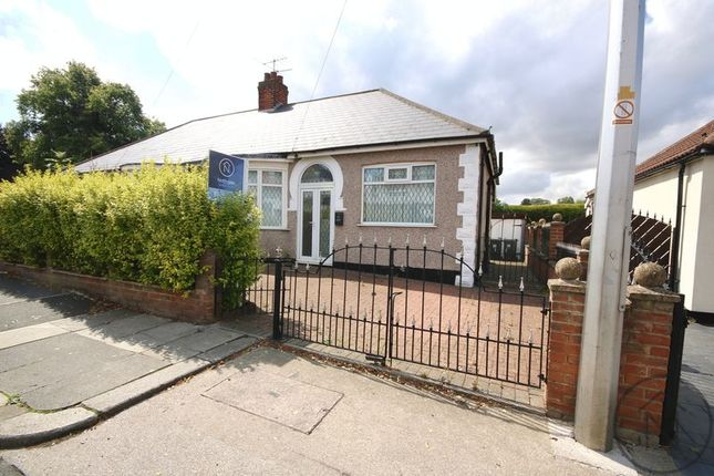 Thumbnail Semi-detached bungalow for sale in Clifton Road, Darlington