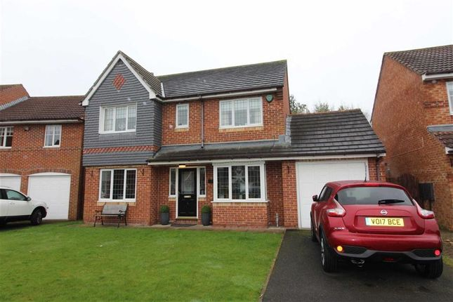 Thumbnail Detached house for sale in Greenwood Close, Fatfield, Washington