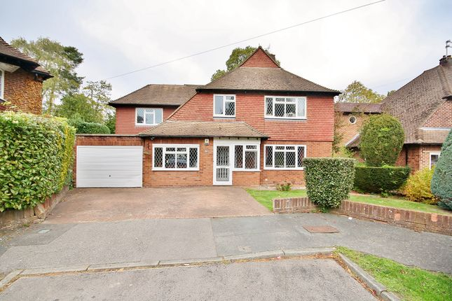 Thumbnail Detached house for sale in Nicholas Gardens, Pyrford, Woking