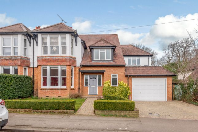 Thumbnail Semi-detached house for sale in Moreton End Lane, Harpenden, Hertfordshire