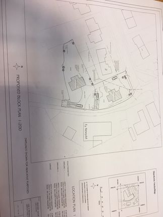 Thumbnail Land for sale in Brondeg (Plot 1), Heolgerrig, Merthyr Tydfil