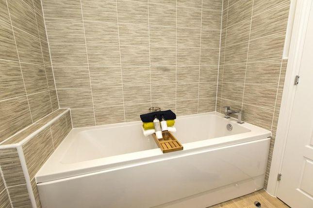 "Family Bathroom of ""Haversham"" at Rhodfa Cambo, Barry CF62"